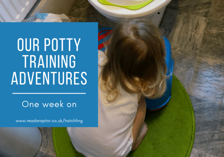 Our Potty training adventures – one week on