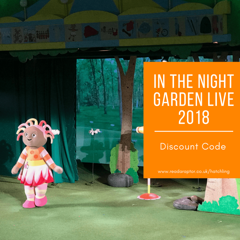 Upsy Daisy at In the Night Garden Live - use our In the Night Garden Live discount code for £5 off your 2018 purchase