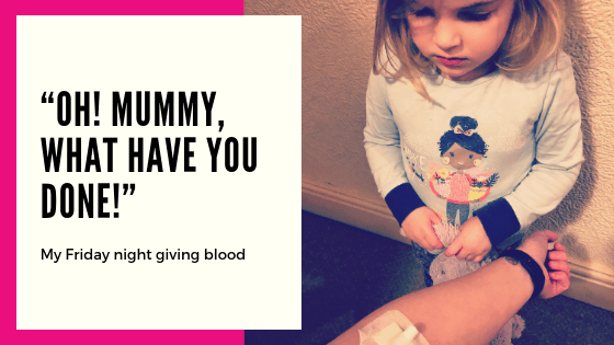 What to expect when you give blood for the first time