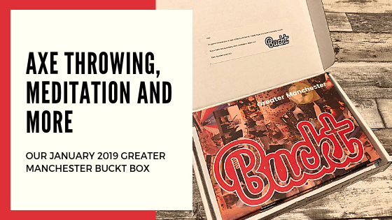 Whats in our January Buckt Box