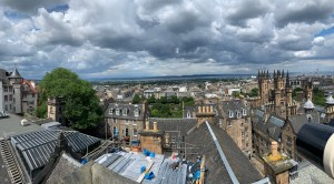 Gorgeous view from the top of Camera Obscura in Edinburgh
