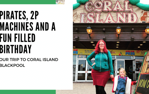 A Day at Coral Island in Blackpool for Spike's Birthday