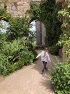Exploring Lowther Castle