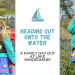Spike, a six year old girl, on a boat on Lake Windermere and Stood in the Bluebells in Skelyghyll Woods in Ambleside