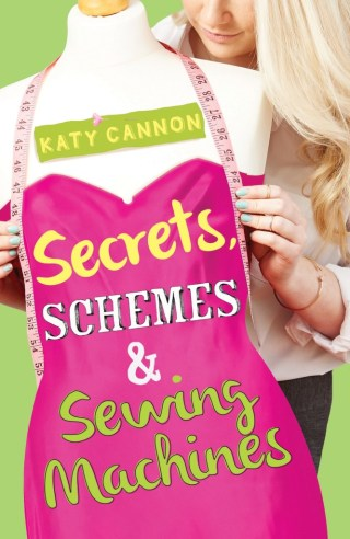 Secrets, schemes and sewing machines by katy cannon book cover