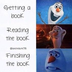 getting a book