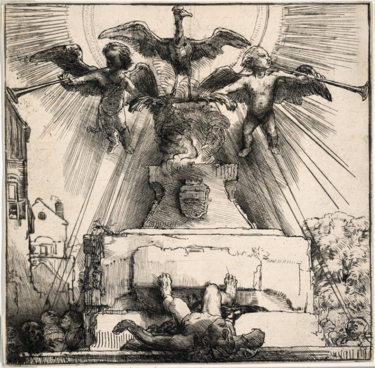 Rembrandt: An Allegory: The Phoenix