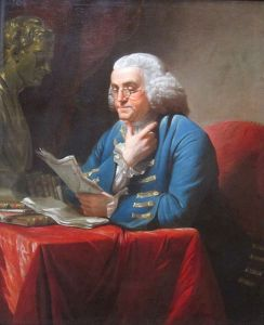 File:Benjamin Franklin with bust of Isaac Newton by David Martin.JPG