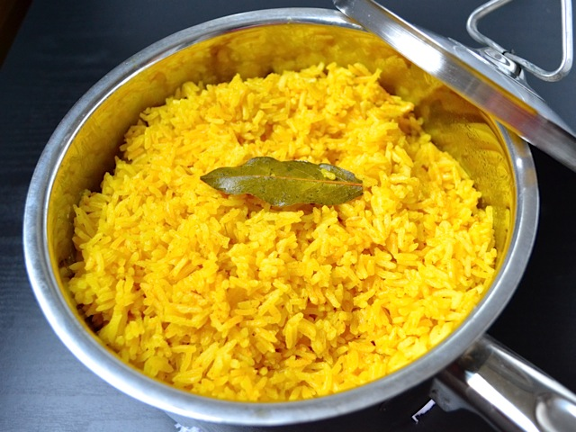 Yellow Rice side