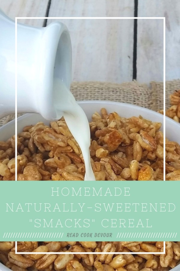 "Homemade, Naturally-Sweetened ""Smacks"" Cereal"