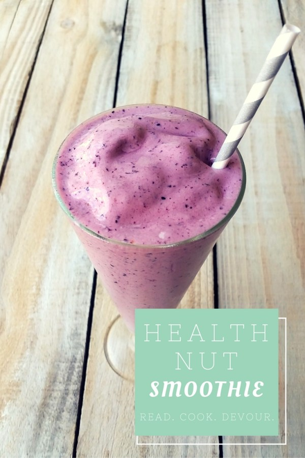 Health Nut Smoothie— a copy-cat Tropical Smoothie Cafe recipe