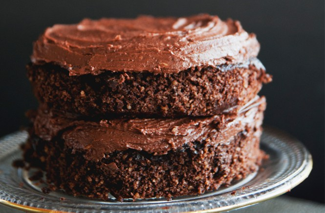 Roasted Chestnuts and Chocolate Cake