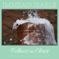 Immeasurable Fullness in Christ