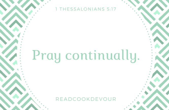 Often With God: Pray Continually - Read Cook Devour