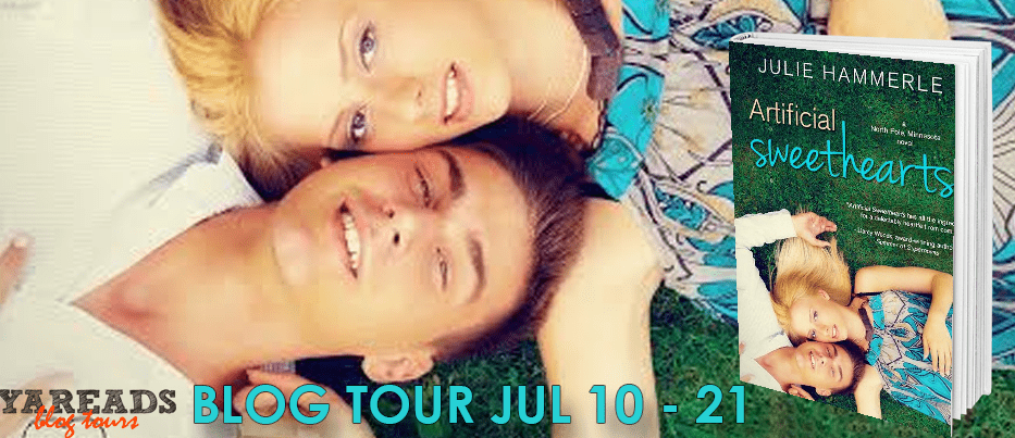 Blog Tour  -  Artificial Sweethearts by Julie Hammerle  -  {Review + Giveaway}