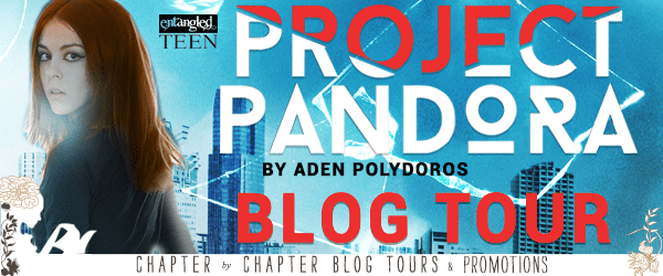 Blog Tour  -  Project Pandora by Aden Polydoros  - {Review + Giveaway}