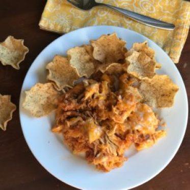 chicken quinoa enchilada casserole