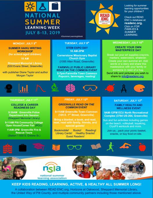 Summer Learning – READ ENC