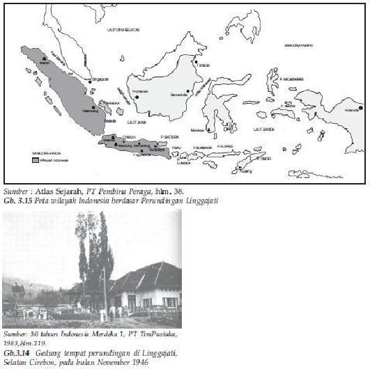 Gambar peta indonesia hasil perundingan linggarjati. Makalah Ips Perjuangan Mempertahankan Kemerdekaan Indonesia