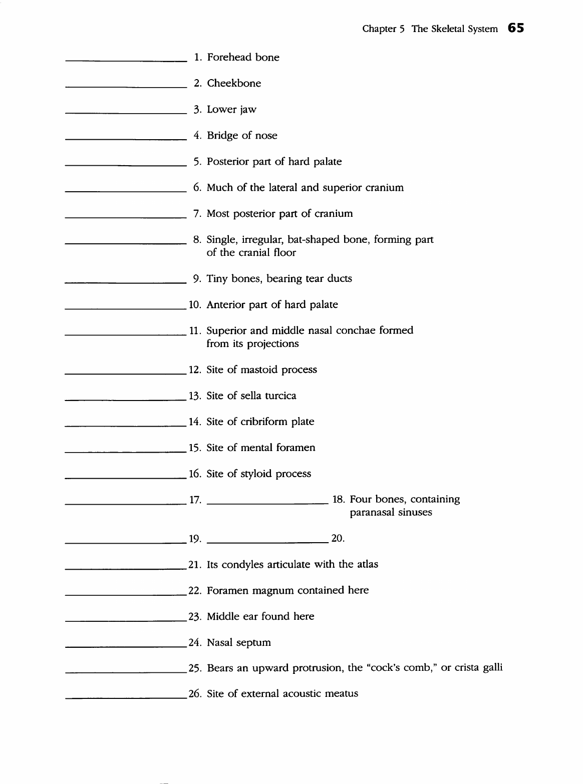 Anatomy And Physiology Coloring Workbook Answers Chapter