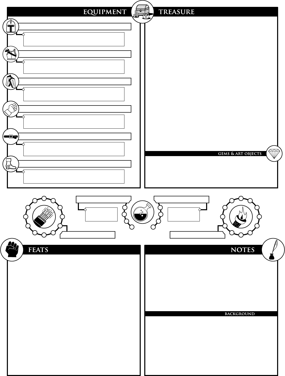 Top 3 5e Character Sheet Printable