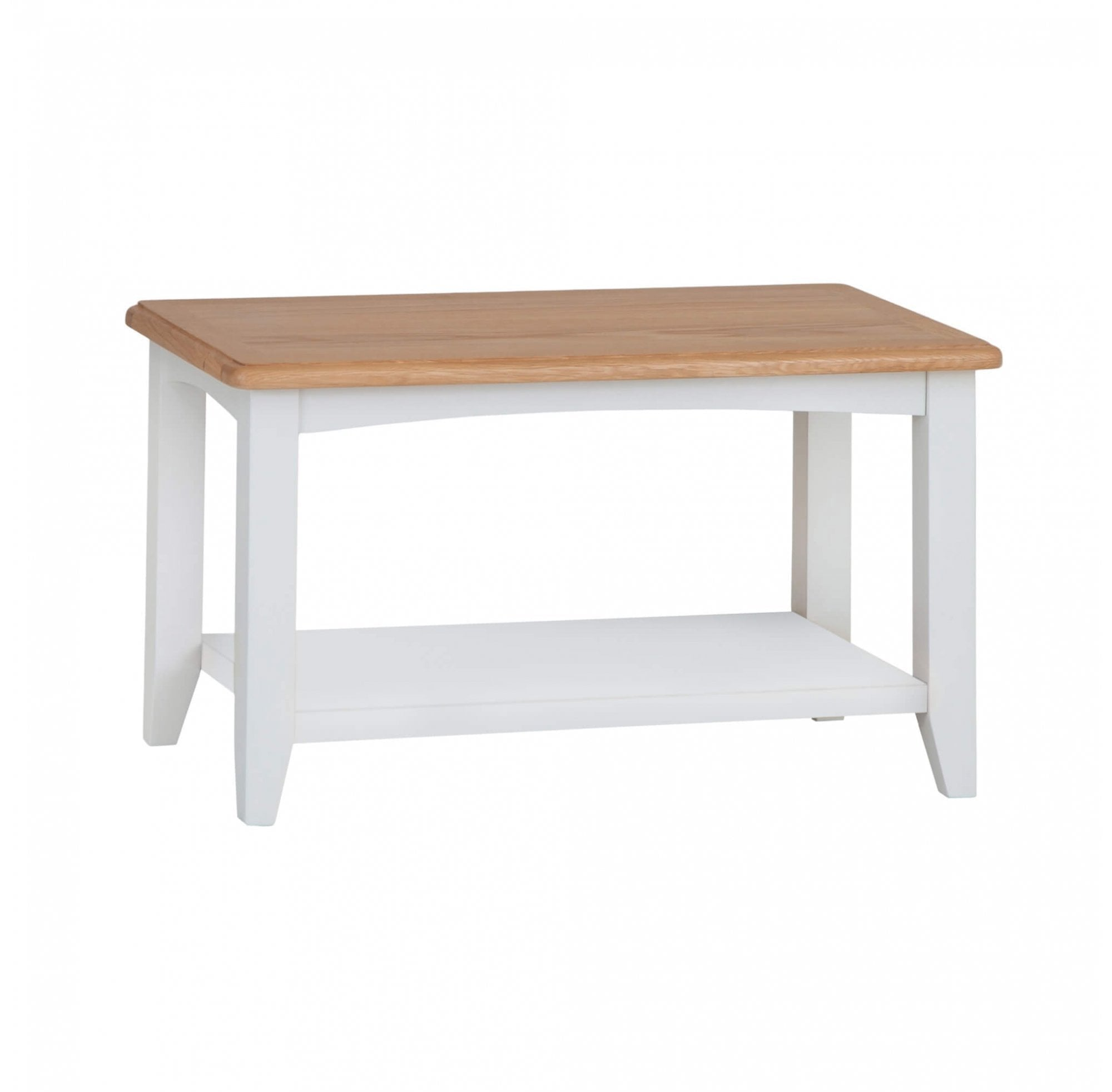 Langbridge White Small Coffee Table Furniture From Readers Interiors Uk
