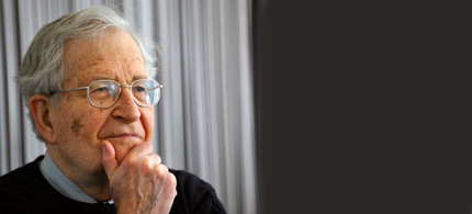 Noam Chomsky. (photo: Va Shiva)