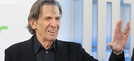 Leonard Nimoy in 2013. (photo: Fred Prouser/Reuters)