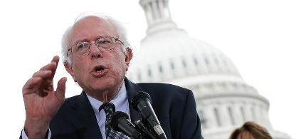 Sen. Bernie Sanders. (photo: Win McNamee/Getty)
