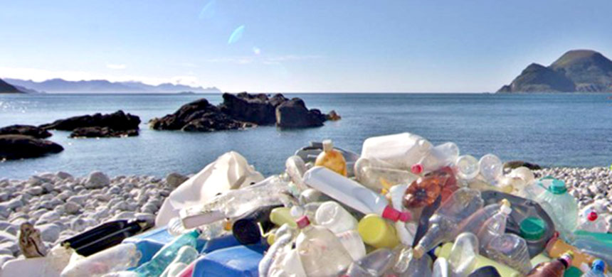 Plastic pollution. (photo: European Environment Agency)
