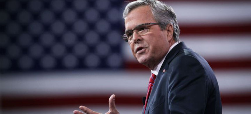 Would Jeb Bush have invaded Iraq like his brother, George W.? His stumble to answer lit a media frenzy. (photo: Alex Wong/Getty Images)