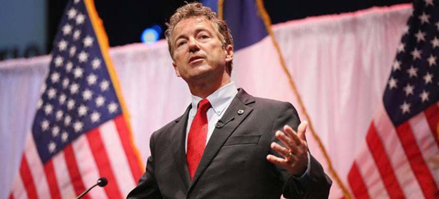 Rand Paul. (photo: Getty Images)