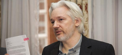 WikiLeaks founder Julian Assange. (photo: Cancillería Ecuador)