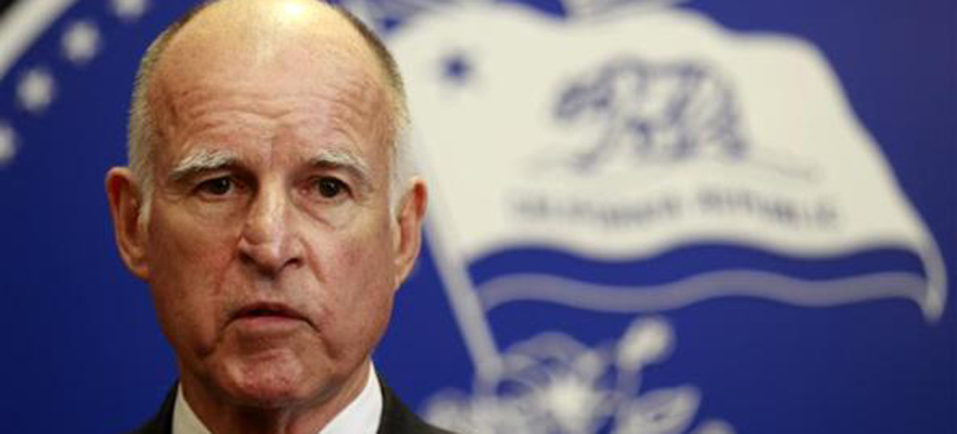 Governor Jerry Brown of California. (photo: Lucy Nicholson/Reuters)