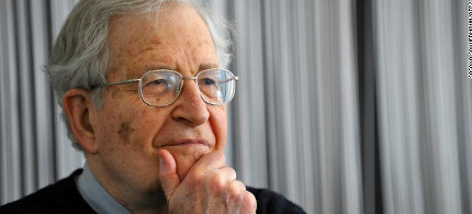 Noam Chomsky. (photo: Sascha Schuermann/AFP/Getty)