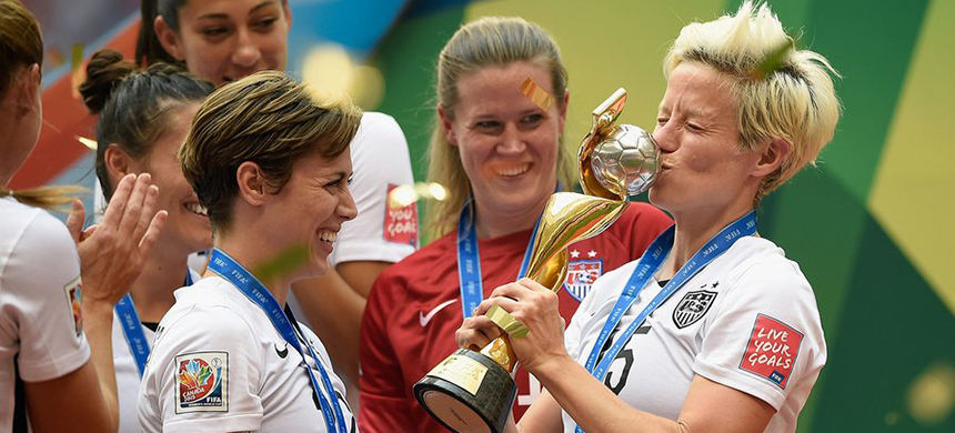 US Women's national team won the World Cup final. (photo: Mike Hewitt/FIFA/Getty Images)
