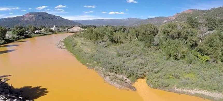 Animas River in Colorado. (photo: AP)