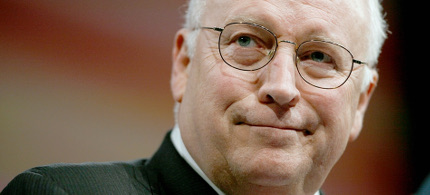 Dick Cheney. (photo: Joshua Roberts/Reuters)