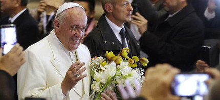 Pope Francis. (photo: AP)