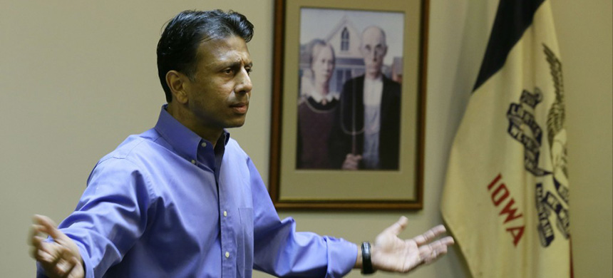Louisiana governor Bobby Jindal. (photo: Charlie Neibergall/AP)
