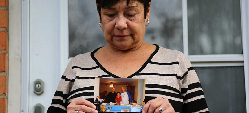 Diane Fetters questions why an officer pursued her brother, David Kassick, for an expired inspection sticker: 'She could have just sent him a summons in the mail.' (photo: WP)