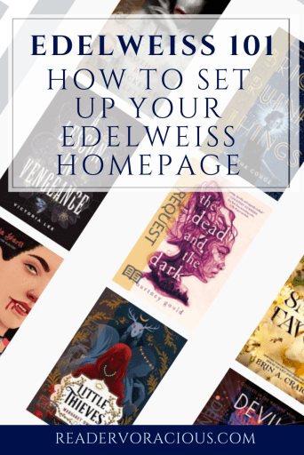 Edelweiss 101 setting up your homepage