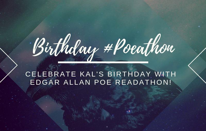 #Poeathon // Celebrate my birthday 🎂  with a group buddy read of Edgar Allan Poe!