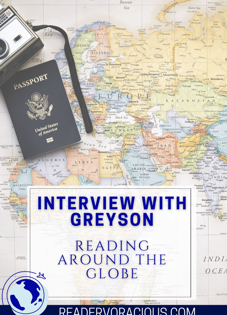 An Interview with Greyson in South Australia | Reading Around the Globe