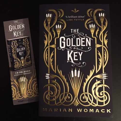 The Golden Key gifted copy and enamel pin