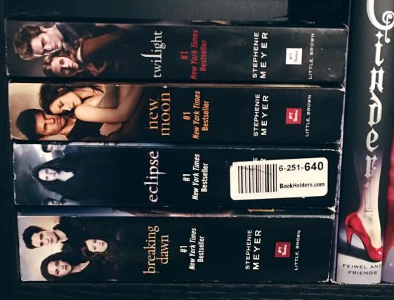 Twilight Saga movie tie-in paperbacks