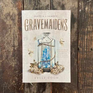 Gravemaidens signed paperback to one US winner