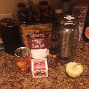 Pumkpin Cream Cold Brew ingredients