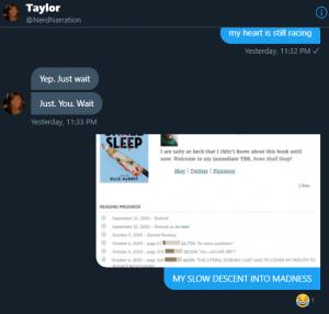Taylor Enjoys my Pain