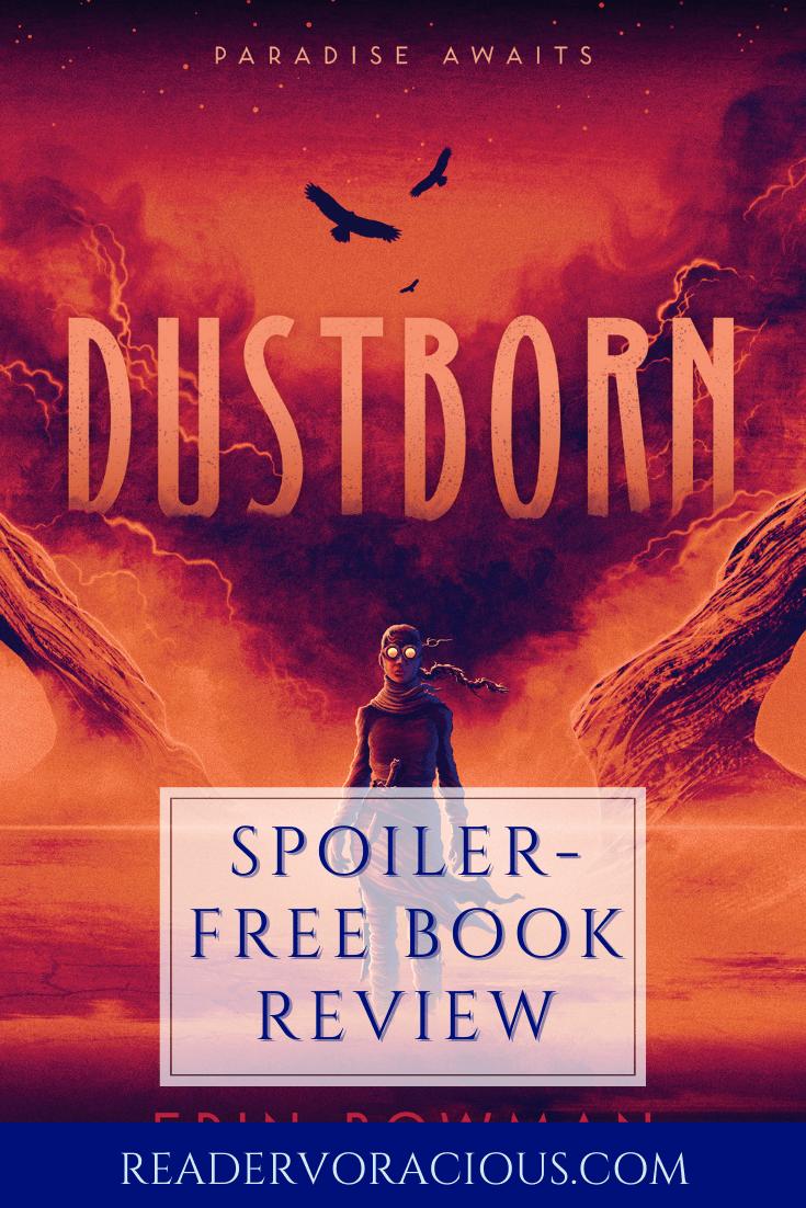 ARC Review: Dustborn by Erin Bowman | Blog Tour